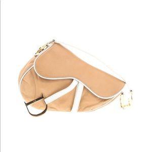 Christian Dior Nude Saddle Bag 💯 Authentic